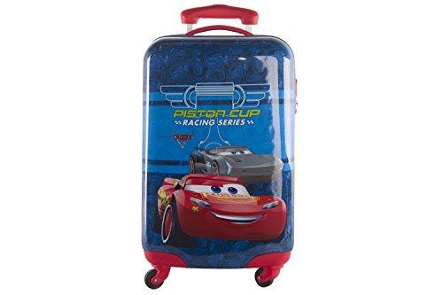 Valigia trolley rigido disney cars rosso mini bagaglio a mano ryanair abs vs136