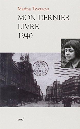 Mon dernier livre 1940 : Edition bilingue franais-russe