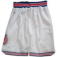 Tune Squad Space Jam Pantalones Cortos película de baloncesto Jersey Tunes tamaño para adultos US Estándar