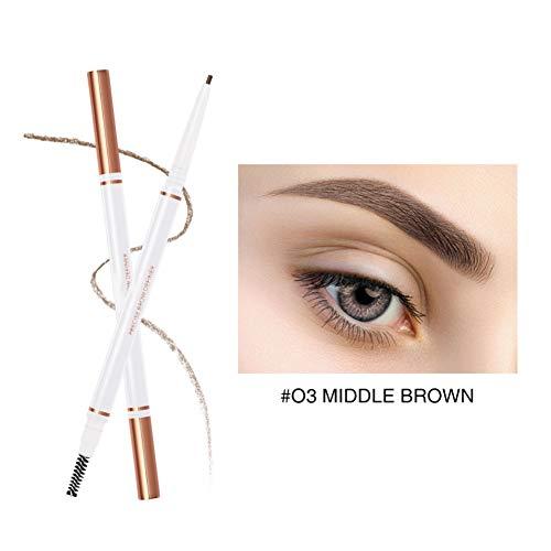 Allbestaye Ultra Precise Augenbrauenstift Brow Liner Wasserfest Augenbrauenfarbe Stift Eyebrow Tattoo Langanhaltend - Mechanical Eye Pencil