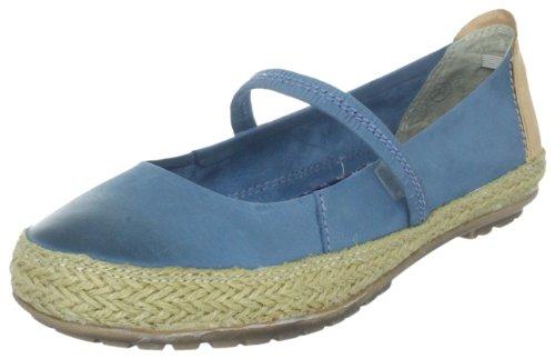 Centro 840400 Damen Slipper Blau (jeans 5)
