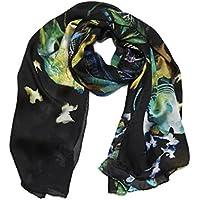 ARC EN CIEL Sciarpa Fashion da Designer Lunga Stampata da