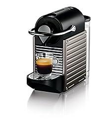 Nespresso Pixie Original Espresso Machine by Breville, Titan