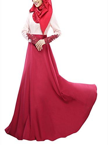 Swallowuk Muslime Dubai Kleid Muslimisch Islamisch Arab Arabisch Indien Türkisch Damen Casual...