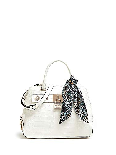 Guess Anne Marie Dome Satchel Stone