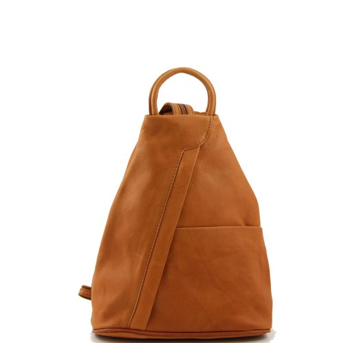 Tuscany Leather - Sac à dos cuir - Cognac