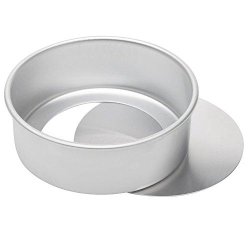 h rund Käsekuchen Pfanne aus eloxiertem Aluminium Chiffon Kuchen Form Backform mit herausnehmbarem Boden ()