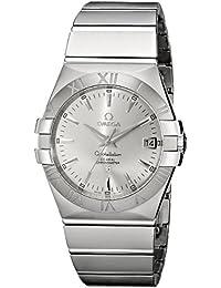 Omega 123.10.35.20.02.001 - Reloj para hombres color plateado