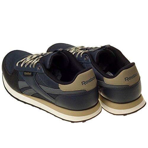 Reebok Royal Cljogger Wld, Chaussures de Sport Homme Argent - Plateado (Alloy / Smoky Black / Acid Gold / Black / Chalk)