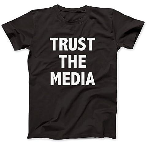 Trust The Media Worn By Michael Stipe T-Shirt 100% Premium Cotton