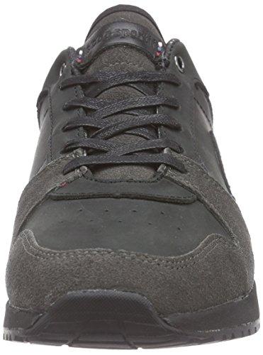 Le Coq Sportif - Gaspar Leather Low-153, Baskets Basses Noires Pour Homme (noir (noir))
