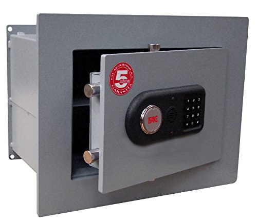 Caja fuerte 102 E PLUS Modelo para empotrar con cerradura electrónica de...