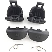 Boutons de Remplacement L1 R1 L2 R2 et Ressorts pour Manette Sony PS4 Pro JDS 040 JDM 040