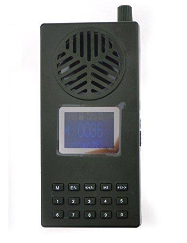 Altavoz para llamar a pájaros para la caza, 130db, reproductor de señuelo, batería de 1800mA