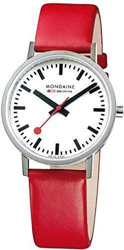 Mondaine Evo Sapphire A660.30314.11SBC.S Reloj de Pulsera para hombres Clásico & sencillo