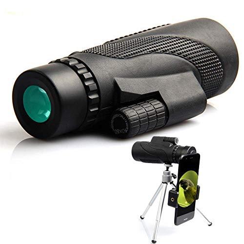 MySuperman Preis leistungsverhältnis 40X60 Monokular Teleskop HD Monokular, Wasserdicht & Stoßfest, optimal geeignet für Camping, Vogelbeobachtung, Reisen,Tiere & auch für die Jagd (Eins)