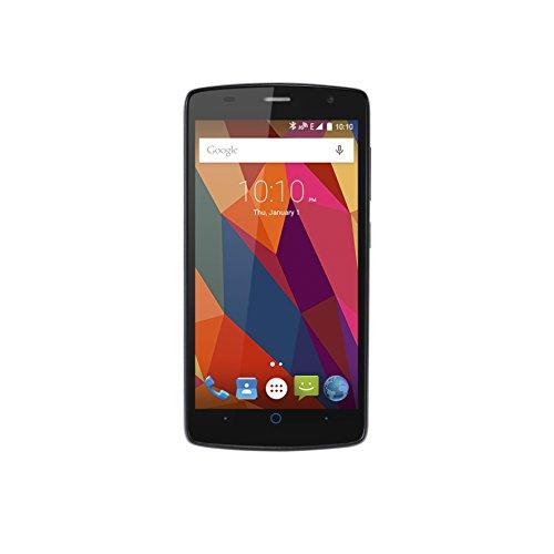 "Foto ZTE Blade L5 Dual Sim Smartphone, Display 5"" HD IPS (1280x720), Processore Quad Core 1.3 Ghz, 8GB Memoria interna, Android 5.0 Lollipop, Grigio"