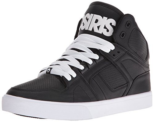Osiris NYC 83 Vulc Black/White/White Noir