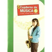 Cuaderno de Música-6 (Educación Primaria) - 9788426814661