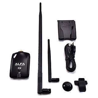 Alfa Wireless-N-USB-Adapter, Atheros - + 9dBi Antenne