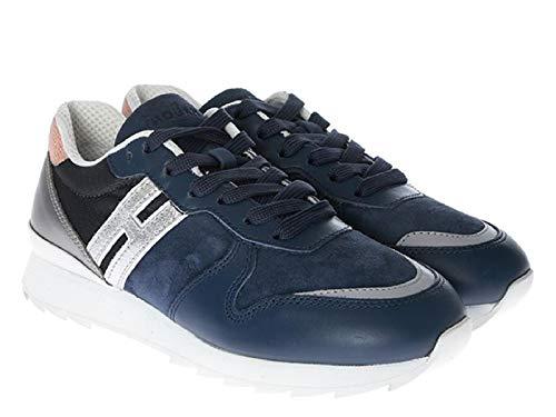 Hogan Sneakers Donna Hxw2610y930ivb0vxr Camoscio Blu