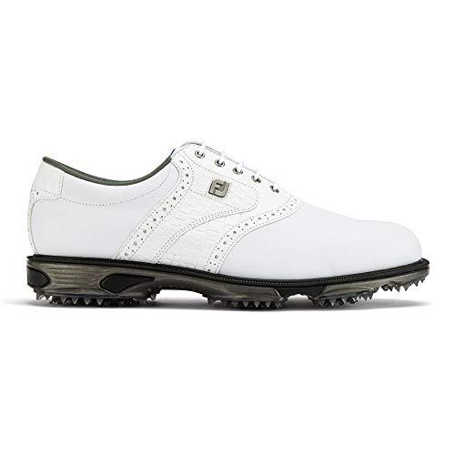 Footjoy DryJoys Tour, Scarpe da Golf Uomo, Bianco (Blanco 53700), 42.5 EU