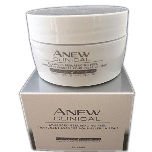 Avon ANEW Clinical Peeling-Pads Tiegel mit 30 Stück für das Gesicht mit Hyaluron Gesichtspeeling - Clinical Peel