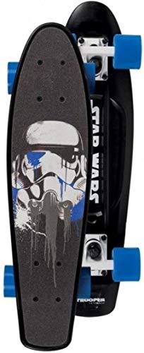 Powerslide Star Wars Fading Trooper Skateboard schwarz-blau, standard