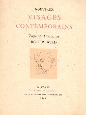 Visages Contemporains. / Vingt-six Dessins de...