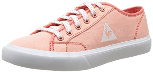 Le Coq Sportif Courteline Cvs, Damen High-Top Sneaker Pink (Summer Coral)