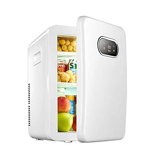 BHDYHM Schreibtisch Kühlschrank Mini-Kühlschrank kleines Büro, deckt tragbaren Kühler Iceless Electric Cooler mit Kühltechnik, 20L Auto Kühlschrank Compact Cooler Warmer Portable Electronic (Schreibtisch-kühlschrank)