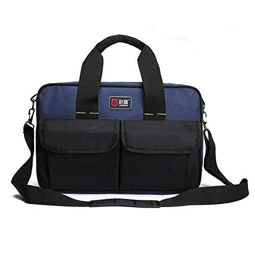 Tool-Taschen-Organisator Heavy Duty Tool Speicherpaket mit 600D Oxford Tuch für Hand/Power Tools Large mit internen und externen Taschen. (Tool, Taschen)