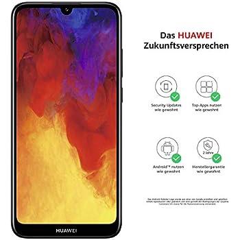 Huawei Y6 2018 Dual-SIM Smartphone 14,5 cm schwarz: Amazon.de ...