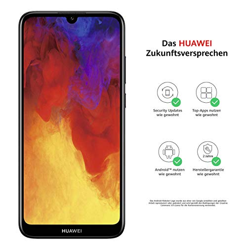 huawei y6 2019 midnight black 6.09 2gb/32gb dual sim