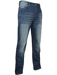 LMA 1006 GOUDRON Jeans extensible 5 Poches, Denim, Taille 46