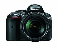 Nikon D5300 24.2 MP CMOS Digital SLR Camera with 18-140mm f/3.5-5.6G ED VR AF-S DX NIKKOR Zoom Lens (Black)