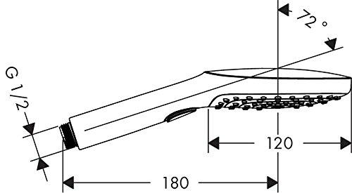 Hansgrohe Raindance-Select E-120 - 6