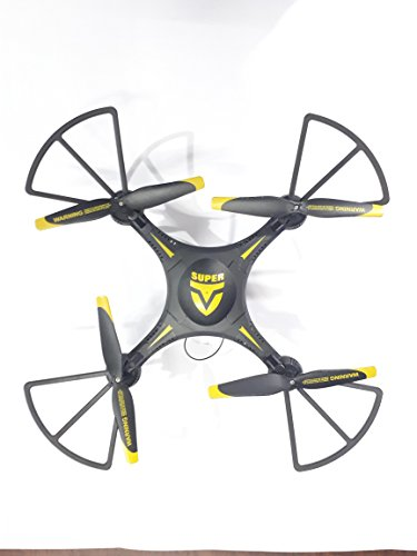 Super Toys Latest Super Drone with WiFi Camera, Black Color with Flexible Material, USB Charger and RC.
