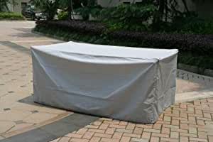housse protection table de jardin rectangulaire 735941. Black Bedroom Furniture Sets. Home Design Ideas