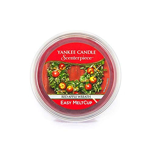 "Yankee Candle ""Red Apple Wreath"" Scenterpiece MeltCups, rot (Apple Candle Wreath Yankee Red)"