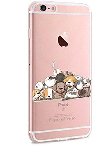 Qissy®Custodia TPU silicone Crystal per Apple iPhone SE / 5