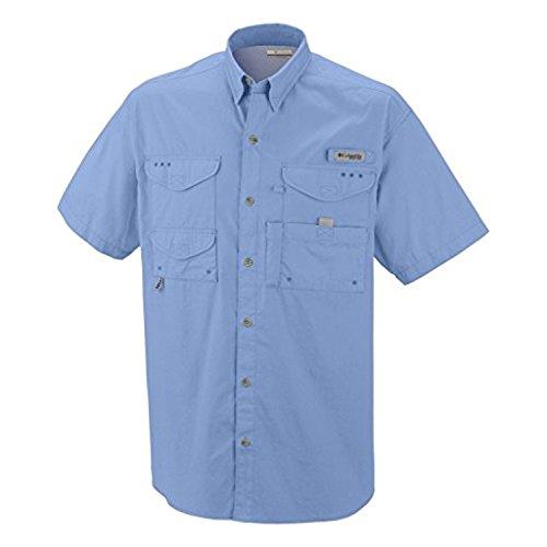 Columbia Herren Bonehead Kurzarm Herren, blau, 7130 - Bonehead Kurzarm-shirt