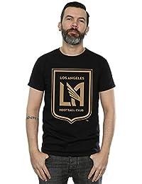 Majestic Homme MLS Los Angeles FC Logo T-Shirt Small Noir