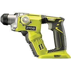 Ryobi 4892210130211 Marteau Perforateur SDS+ sans fil, 18 V, Multicolore