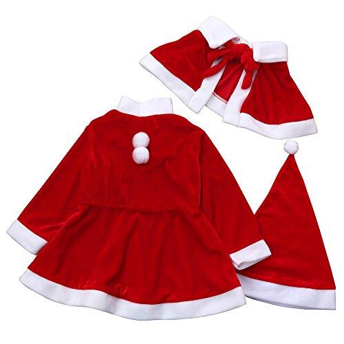 Costume Neonato Babbo Natale – Costumi Divertenti 4004bb298c4