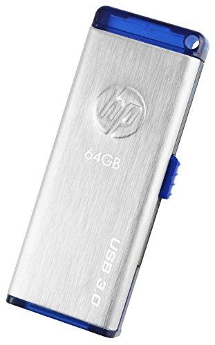 HP X730W USB 3.0 64GB Pen Drive (Silver & Blue)