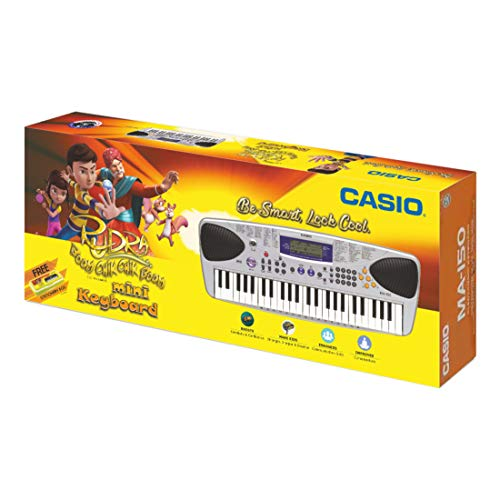 Casio MA150 Mini Portable Keyboard with Adaptor and Free Rudra Stationery Box