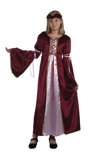 Renaissance Prinzessin - Kinder Kostüm - Small - -