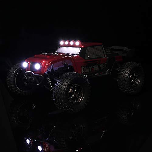 RC Auto kaufen Buggy Bild 6: HAIBOXING Ferngesteuert Auto 2,4 GHz 4WD 1/12 RC Desert Buggy 38 KM/H Hoch Geschwindigkeits Mit 6 LED-Leuchten, Hydraulikdämpfer Wasserdicht RC elektro Lastwagen RTR Hobby-Klasse*