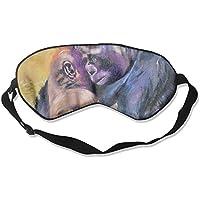 Sleep Eye Mask Oil Chimpanzee Lightweight Soft Blindfold Adjustable Head Strap Eyeshade Travel Eyepatch E19 preisvergleich bei billige-tabletten.eu